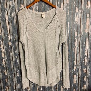 We The Free thermal long sleeve tunic style top